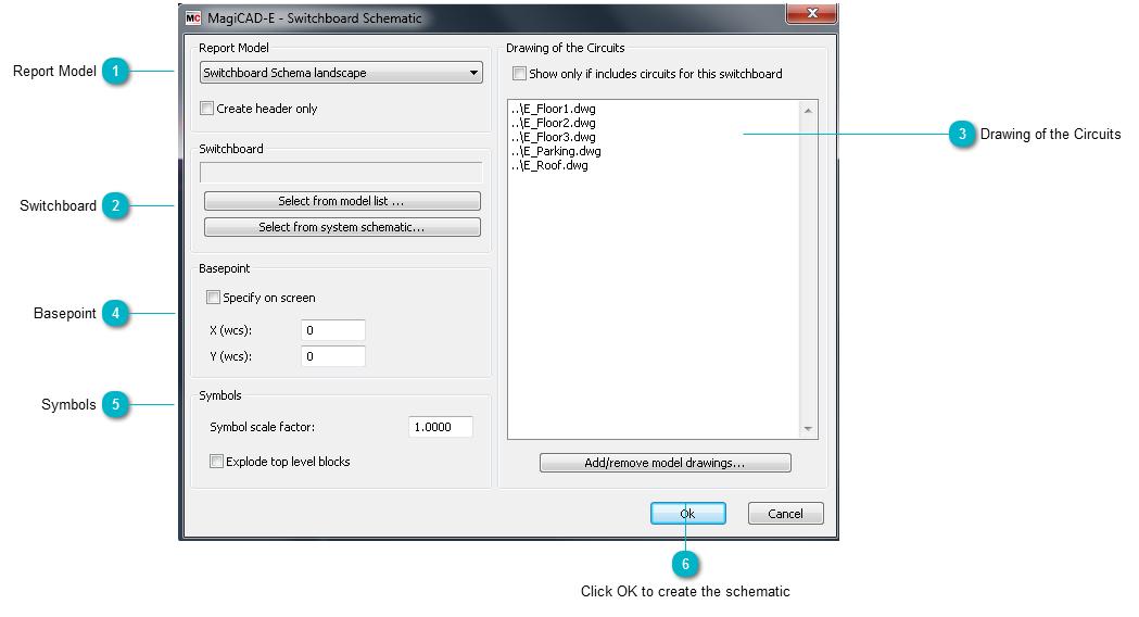 Topic: Create Switchboard Schematic