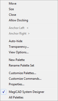 Topic: Device/Group Palette