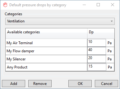 Topic: Project calculation settings